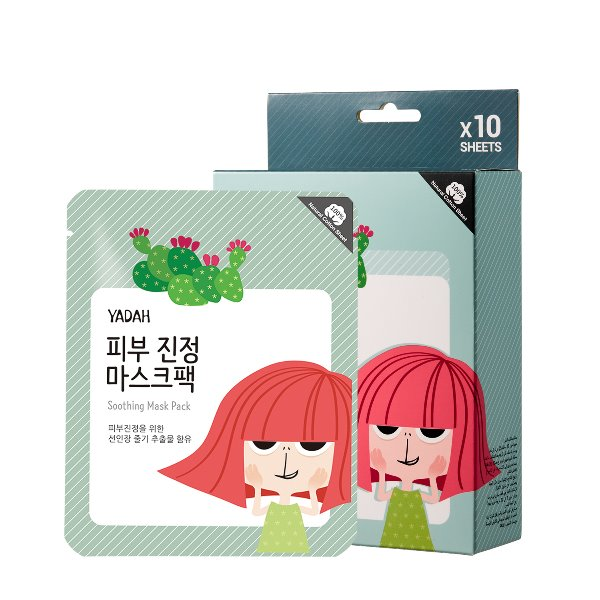 Soothing Mask Pack 10ea